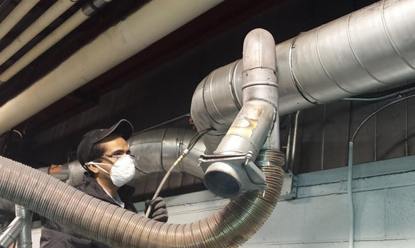 Industrial Air Duct Cleaning Services by Action Duct