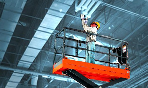 Commercial/Industrial High Ceiling Cleaning by Action Duct